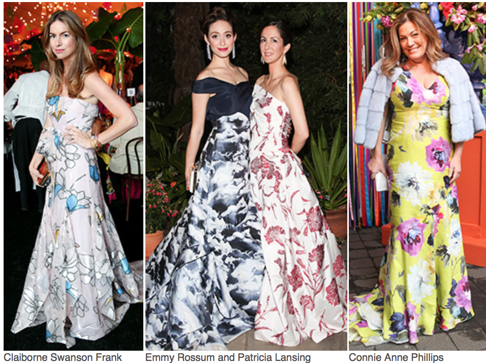Say ALOHA! to the New York Botanical Garden Conservatory Ball as it celebrates Georgia O'Keeffe:  Visions of Hawai'i  with a fantastic luau themed event.Claiborne Swanson Frank,Emmy Rossum, Patricia Lansing,Conni Anne Phillips