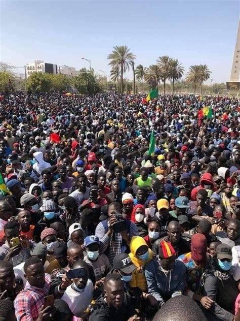 Masseprotester Senegal 2021 1