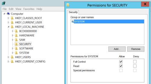 LSA Secrets - Registry Permissions