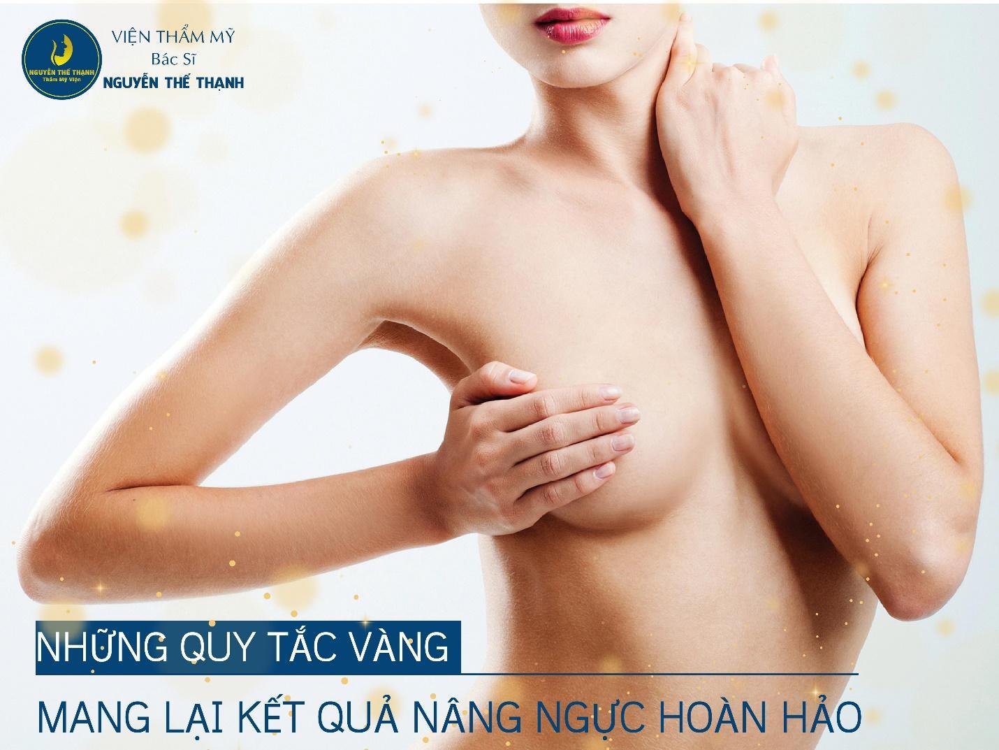 Những quy tắc vàng mang lại kết quả nâng ngực hoàn hảo  - Ảnh 1