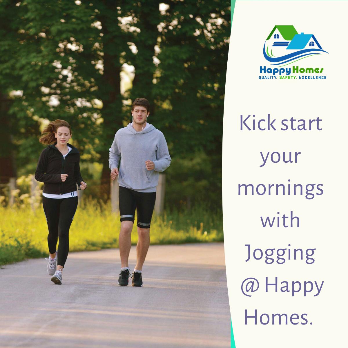 Jogging track - Happyhomes Guntur
