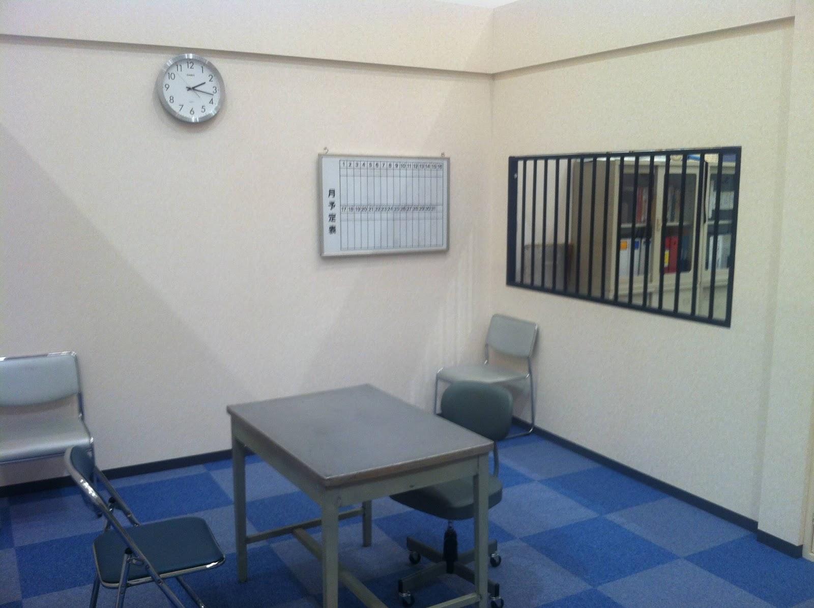 חדר חקירה משטרתית