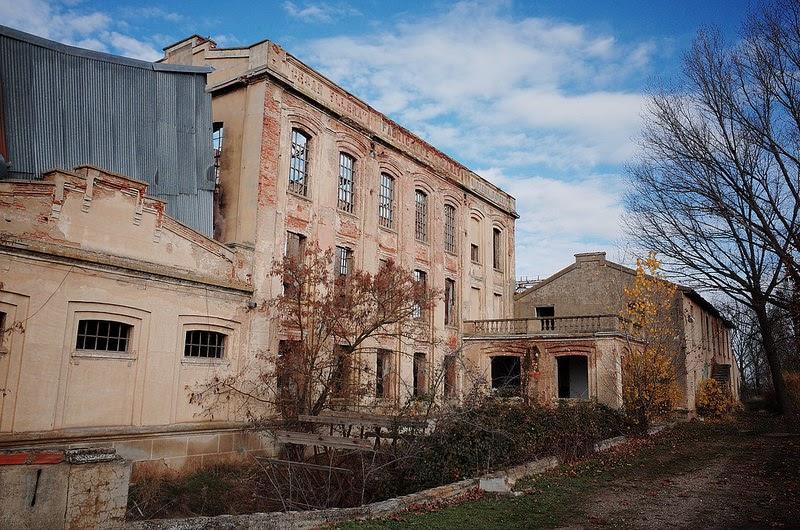 fábrica de harinas Las Luisas en Trigueros del Valle
