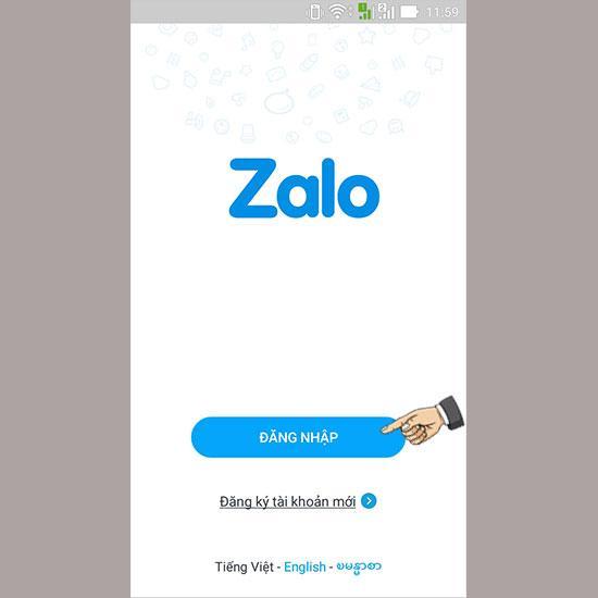 Zalo đăng nhập không cần mật khẩu có được không?