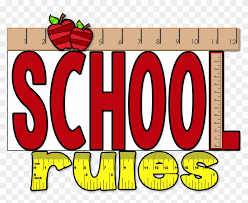 Image result for school rules clip art