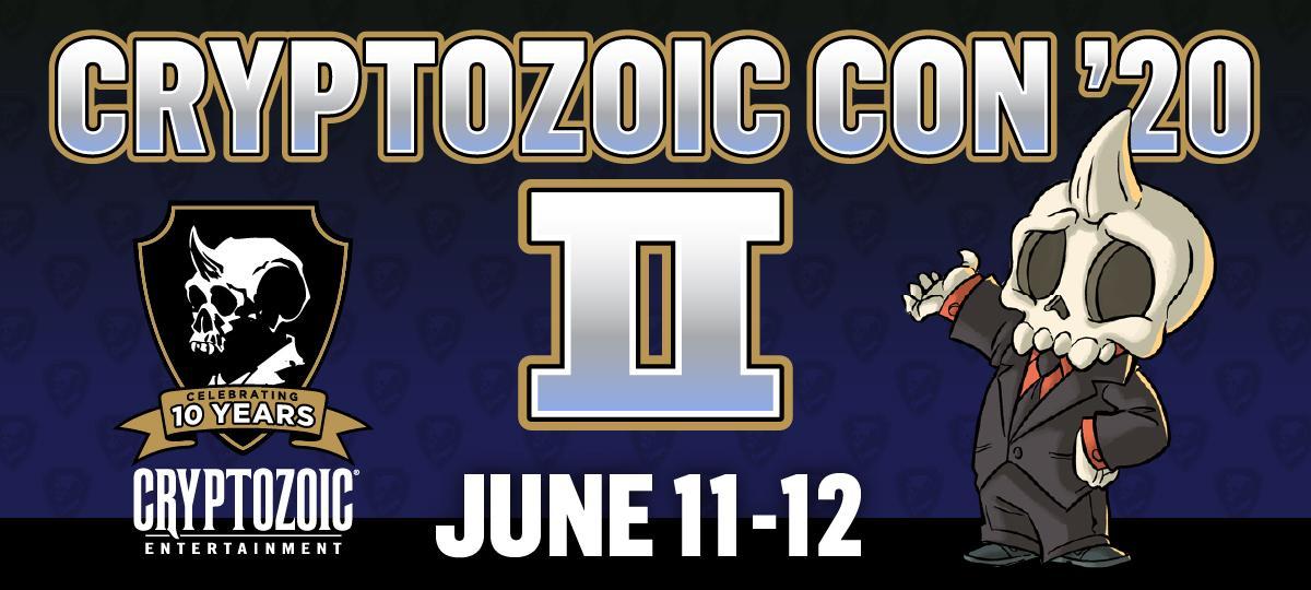 Cryptozoic Con '20 II: Schedule