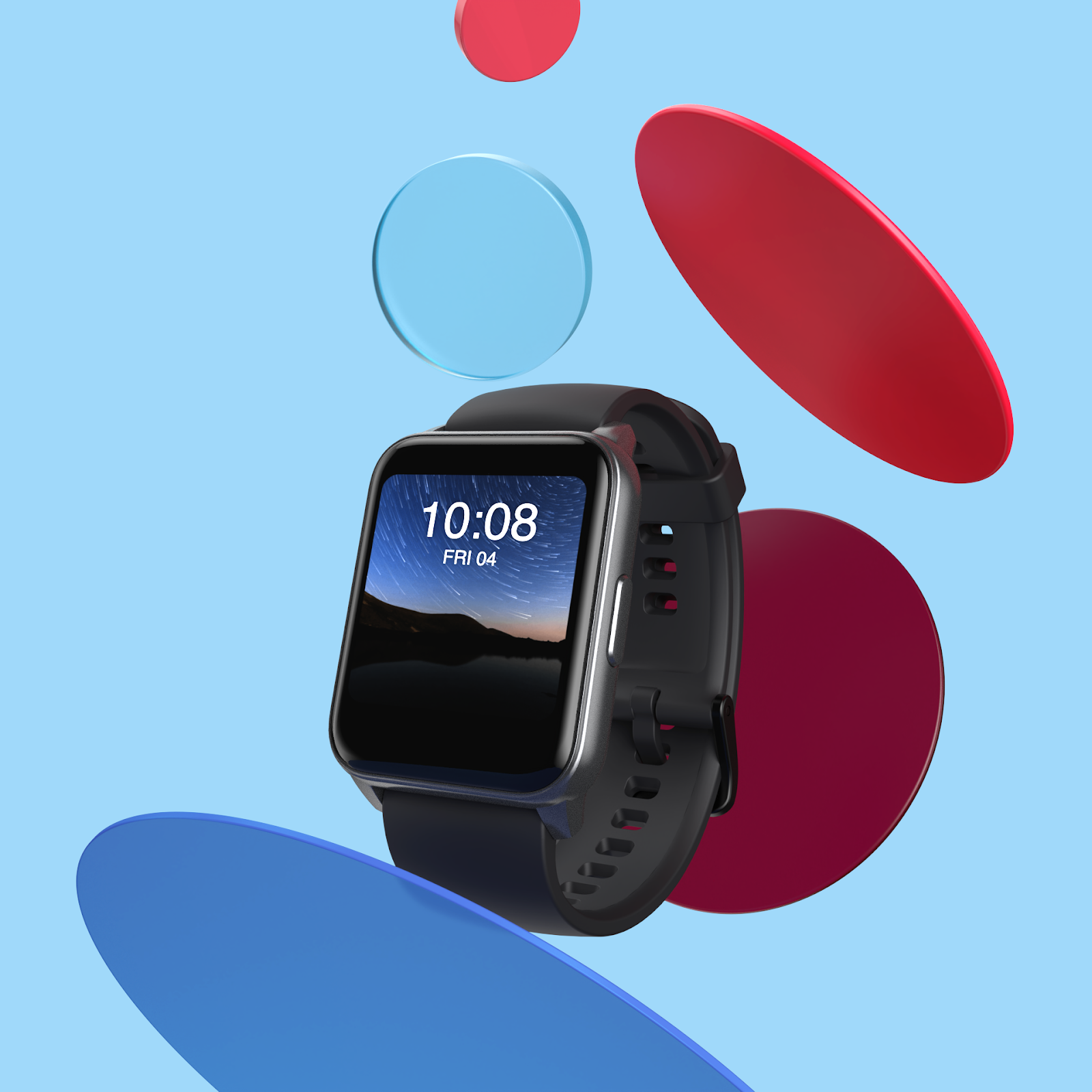 DIZO, from realme TechLife, Unveils its First Smartwatch - DIZO Watch;  An Extension to your Style a(图1)