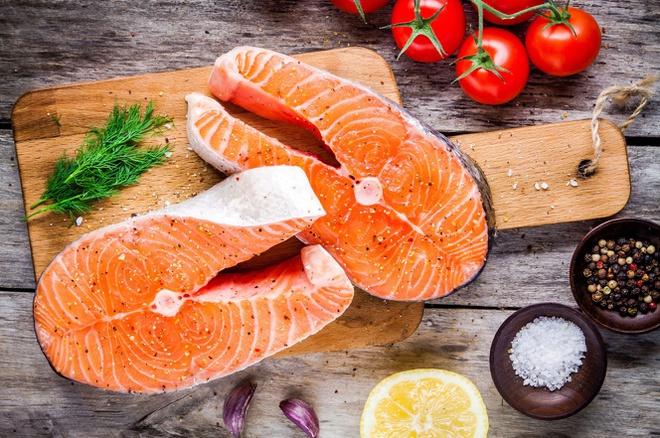 Sự bắt mắt là yếu tố tiên quyết đến chất lượng cá Hồi