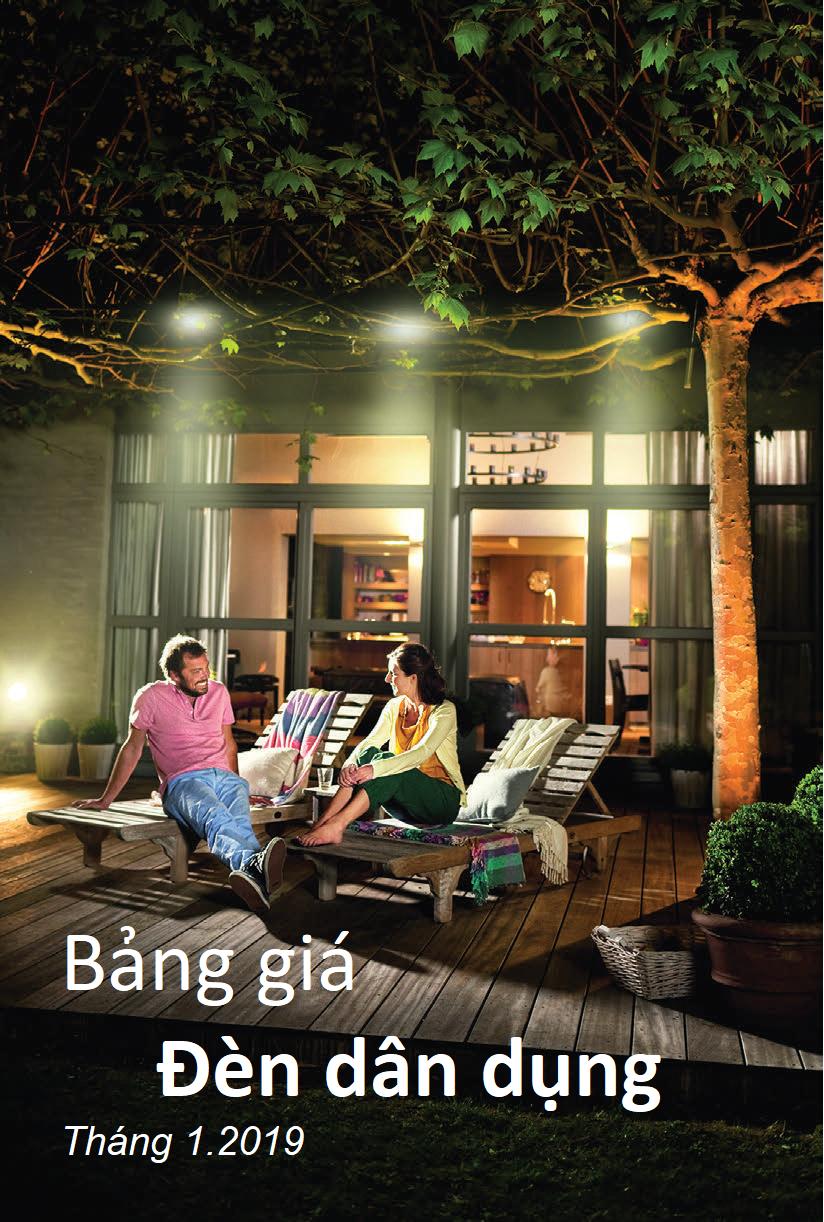 Download Catalogue Bảng giá bóng đèn Led Philips mới nhất 2019 tại đây