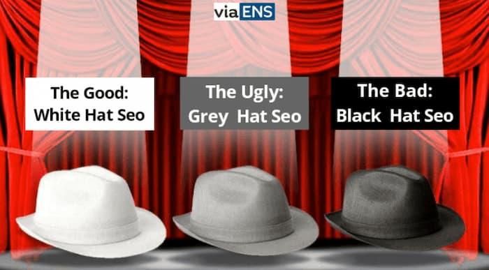 SEO mũ xám là các loại kỹ thuật SEO nằm giữa SEO mũ trắng và SEO mũ đen