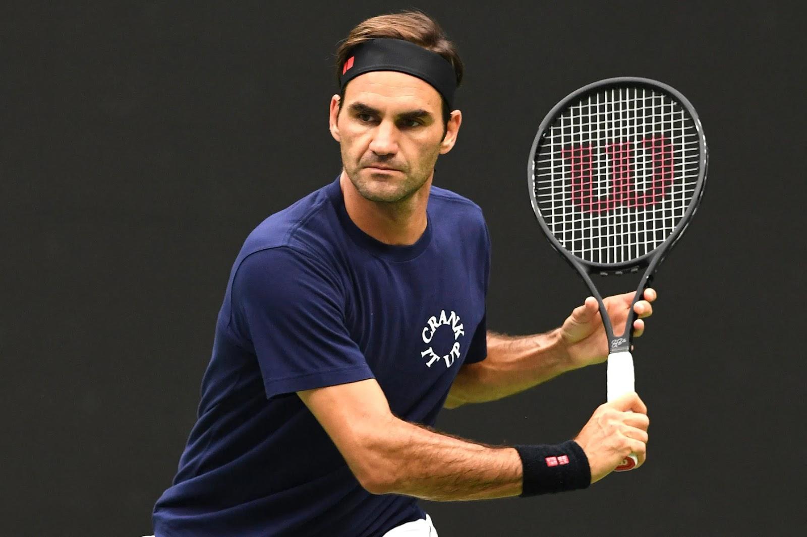 Phong độ thi đấu của Roger Federer khá ổn định