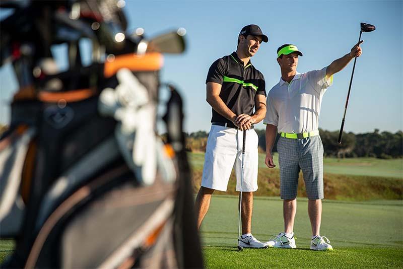 Thiết bị golf đa dạng và phong phú