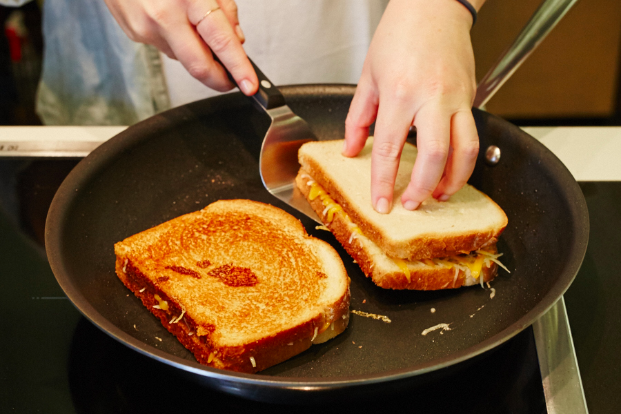 grilled cheese pan