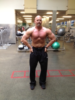 This is Ken in the off season in 2013 at 223lbs