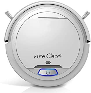 PUCRC25 Automatic Robot Vacuum Cleaner - Lithium Battery 90 Min Run Time - Robotic Auto Home Cleaning for Clean Carpet and...