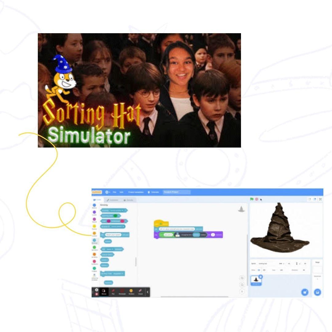 meme sorting hat simulator