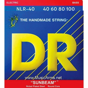 DR NLR-40 Sunbeams™ Nickel Plated on Round Cores Lite Electric Bass Strings