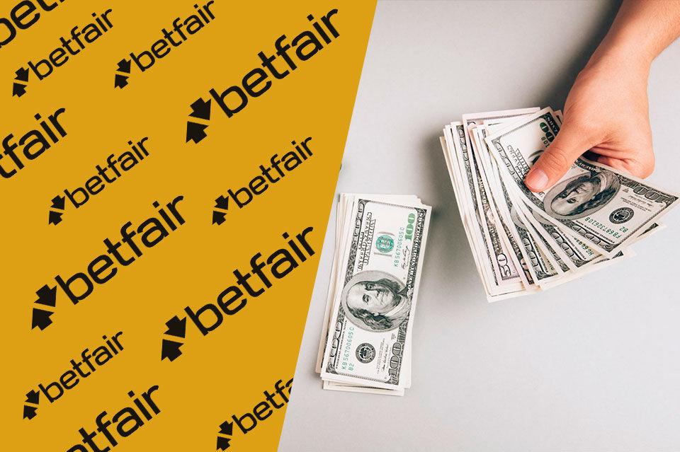 Пополнение депозита в Betfair
