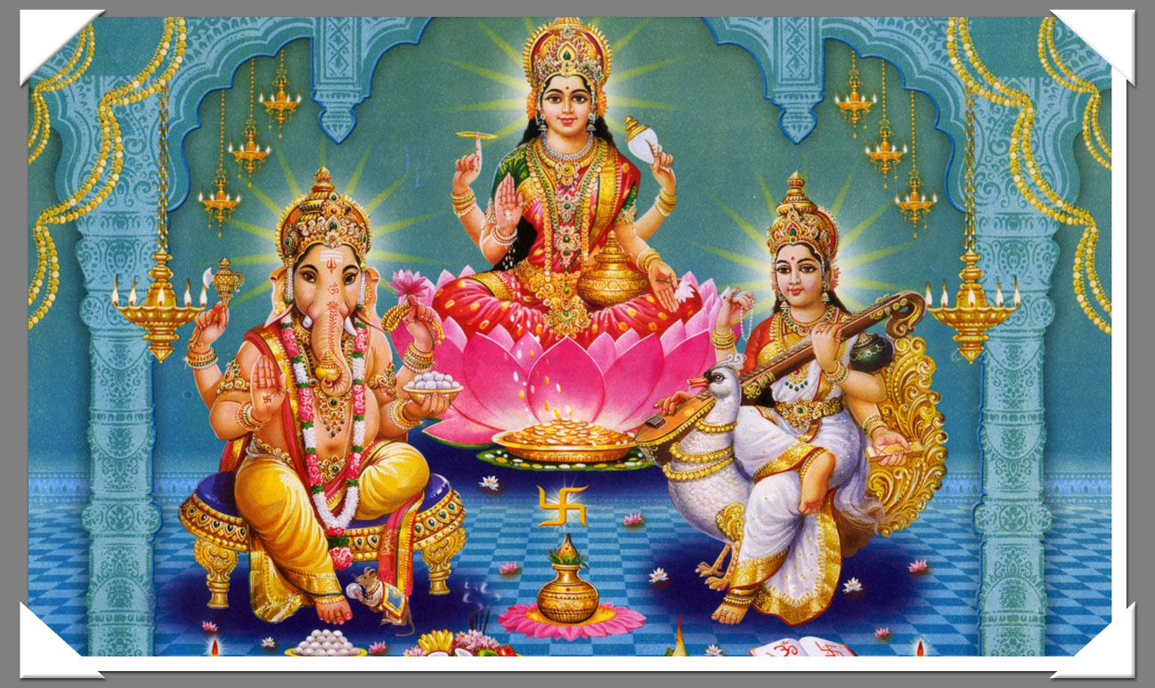Hindu gods - a metaphor for live, death and creation