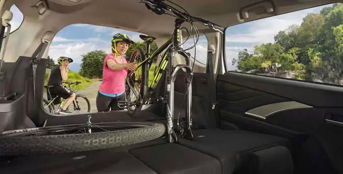 Mitsubishi Xpander 2020 có không gian chứa đồ vô cùng lý tưởng