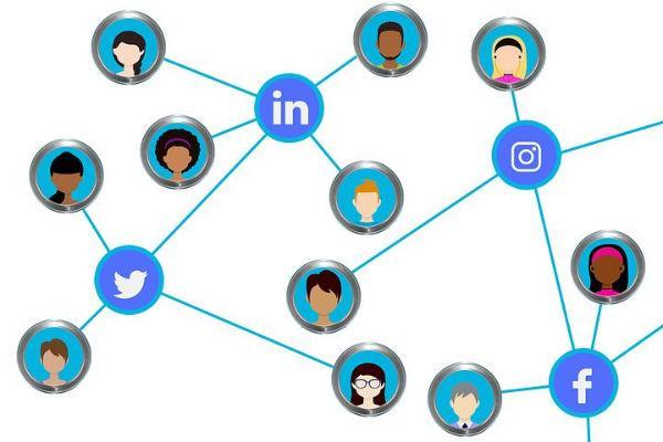 dessin réseaux sociaux