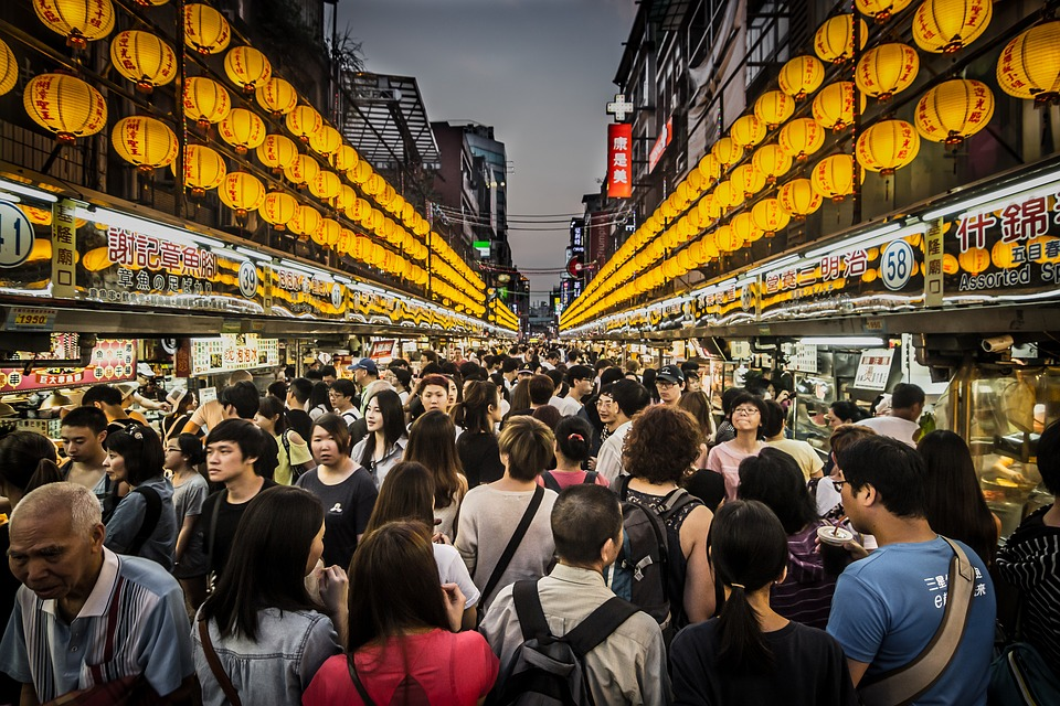 Free photo: Night Market, Crowd, Seafood - Free Image on Pixabay ...