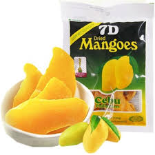 Image result for asian dried mango slices packet food