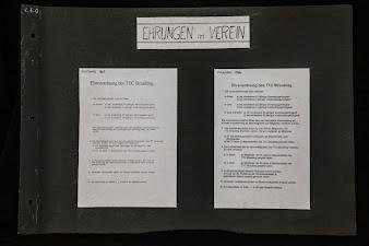 Chronik Ehrenordnung