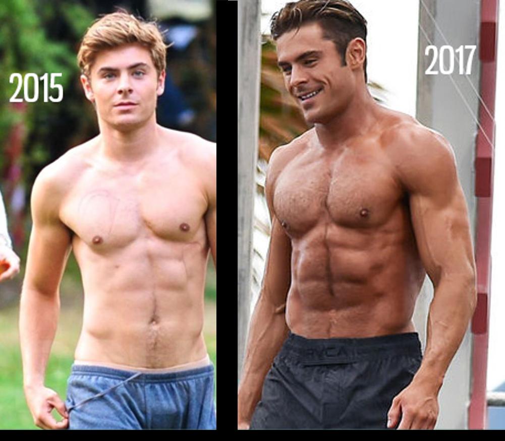 Transformation Zach Efron