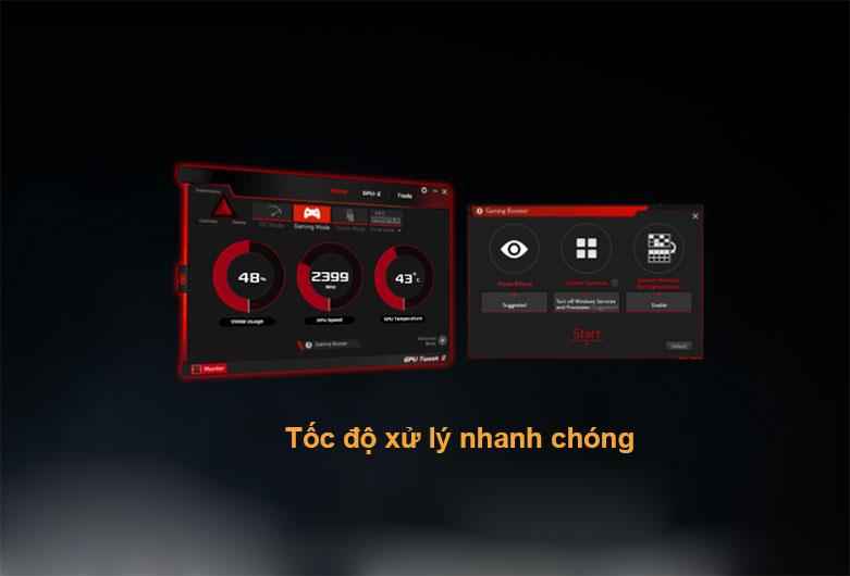Card màn hình/ VGA ASUS TUF Gaming GeForce RTX 3060 OC 12G (TUF-RTX3060-O12G-GAMING) | Tốc độ xử lý nhanh chóng