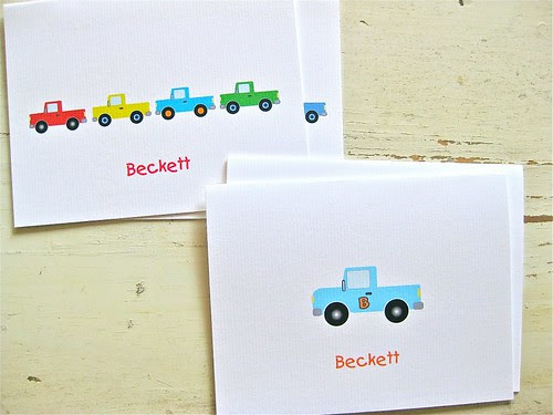 My First Pickup Note Cards