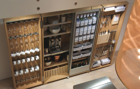 The b2 Kitchen Tool Cabinet by Bulthaup - 3rings