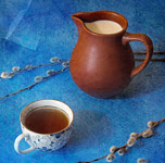 Warning: milk eliminates health benefits of tea