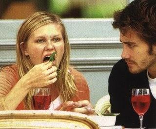 Kirsten Dunst And Jake Gyllenhaal Eating Celebrities Eati...