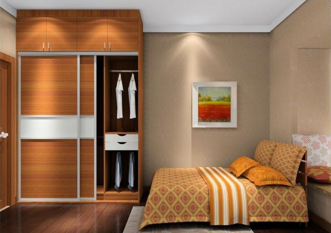Desain Kamar Tidur Minimalis Ukuran 2x3 Wallpaper Dinding