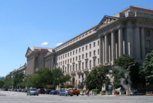 English: The headquarters of the United States...