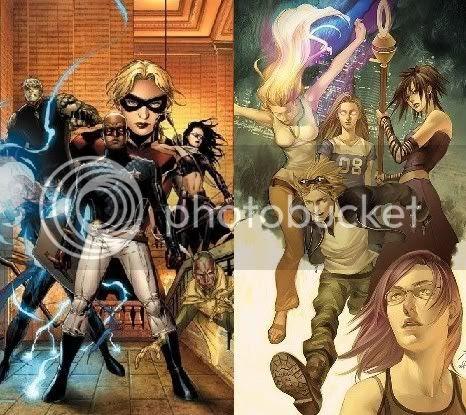 Jovens Vingadores & Fugitivos