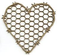 Chickenwire Heart