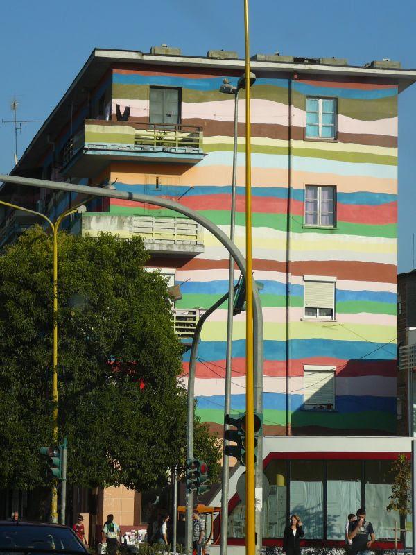 Tirana Rainbow Building