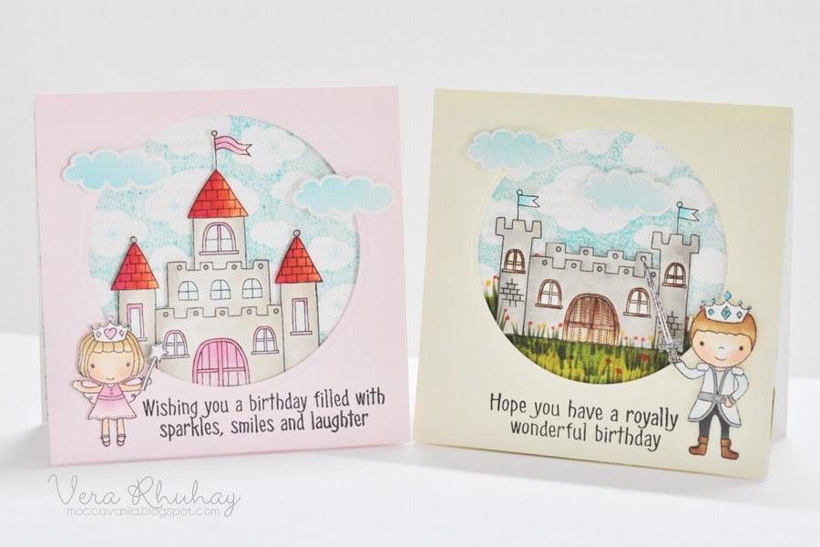 prince&princess birthday set
