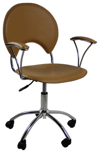 Ergonomic Office Chair in Camel - Modern - Task Chairs - atlanta ...