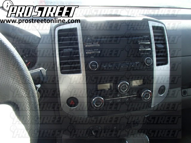 Nissan Frontier Stereo Wiring Harness on dual car,
