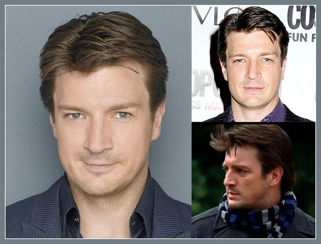 Nathan Fillion - Closeups (RL)