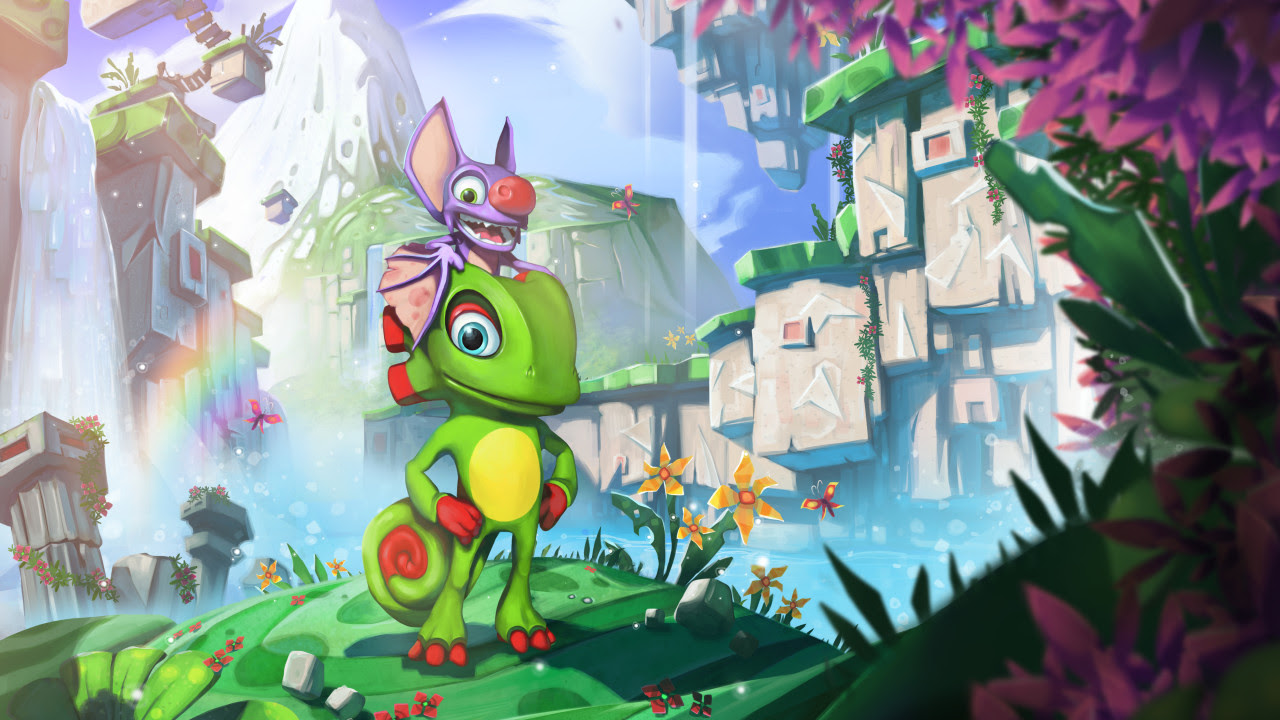 Yooka-Laylee still getting love from Playtonic leading up to Switch release screenshot