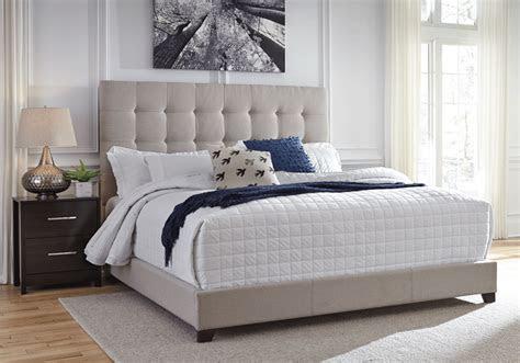 dolante beige queen upholstered bed louisville overstock