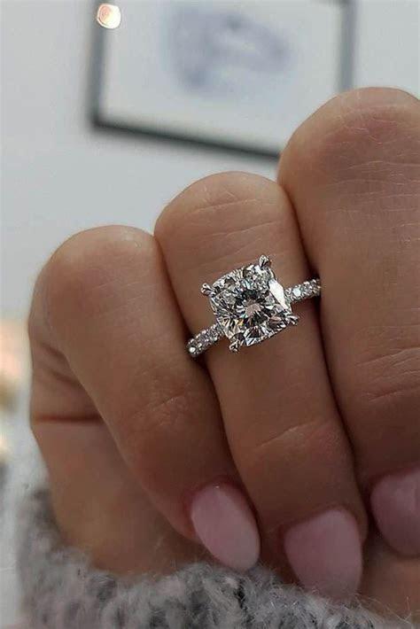 Best 25  Cushion cut diamonds ideas on Pinterest   Cushion