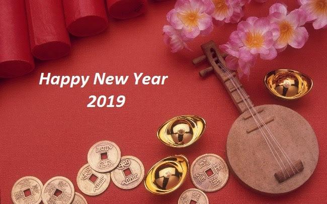 Happy Lunar New Year 2019 Wallpaper