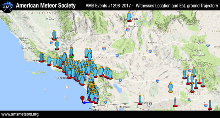 san diego meteor, san diego meteor april 10 2017 video, san diego meteor april 10 2017 maps, san diego meteor april 10 2017 news, san diego meteor video, san diego meteor april 10 2017