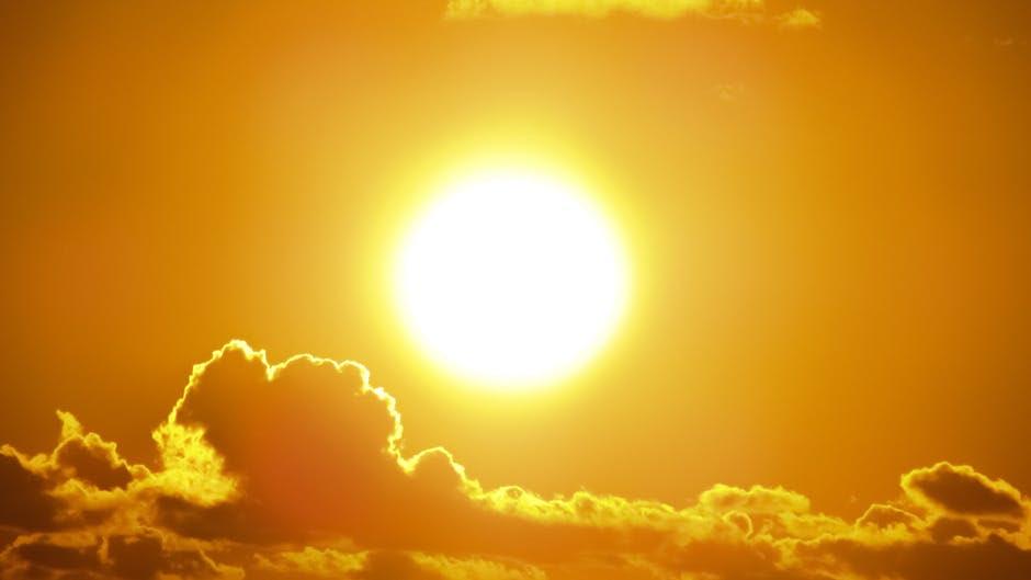 O calor na cidade de Alegre chegou a 38,4ºC. Foto: Divulgação / Pexel