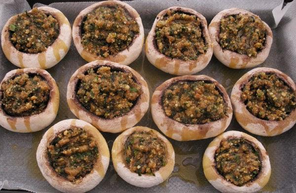 Ricetta biscotti torta funghi al forno ripieni - Forno microonde e tradizionale insieme ...